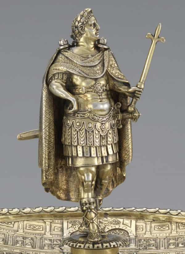 The Vespasian figure from the Aldobrandini Tazze.