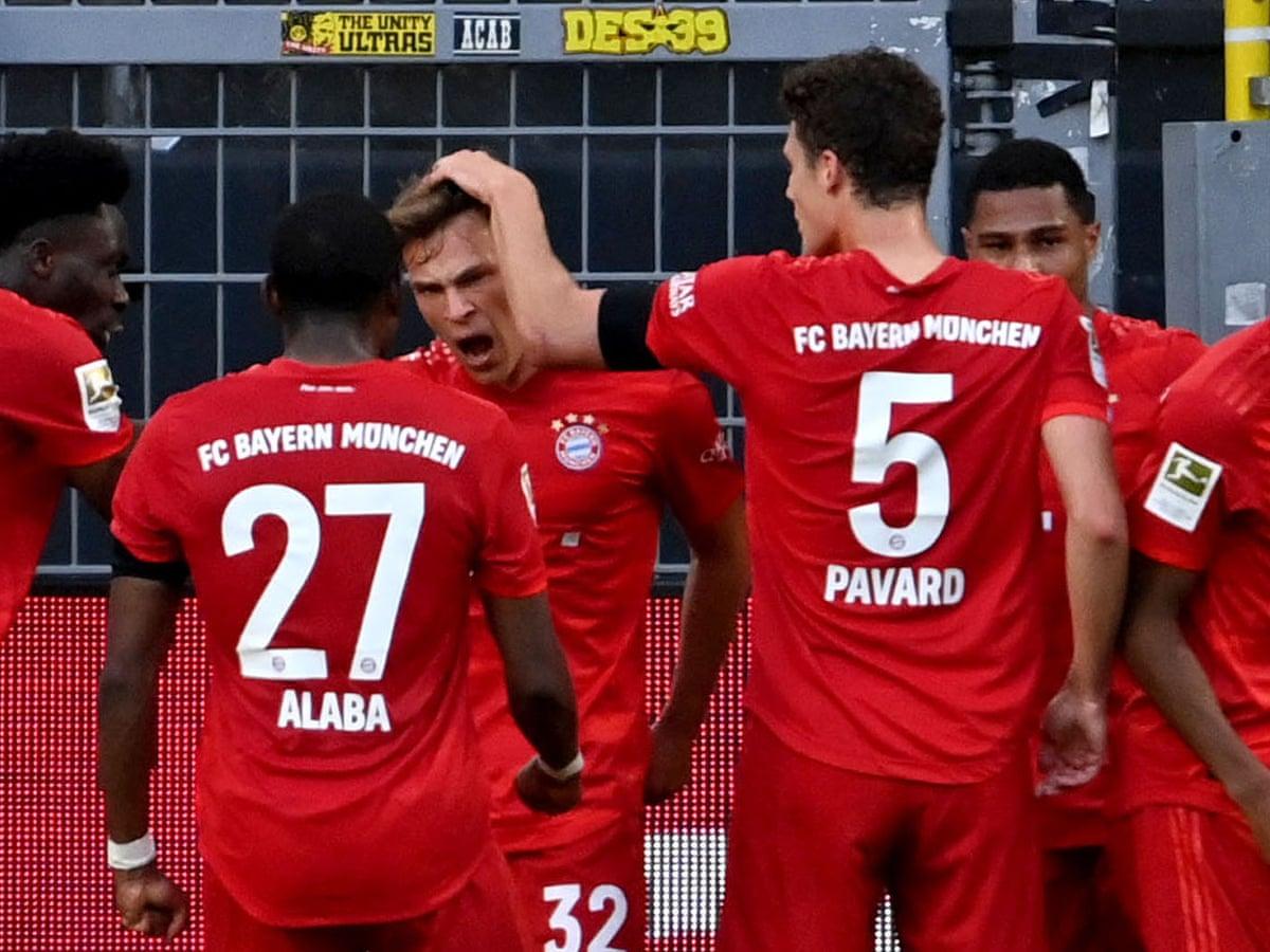 Borussia Dortmund 0 1 Bayern Munich Bundesliga S Klassiker As It Happened Football The Guardian