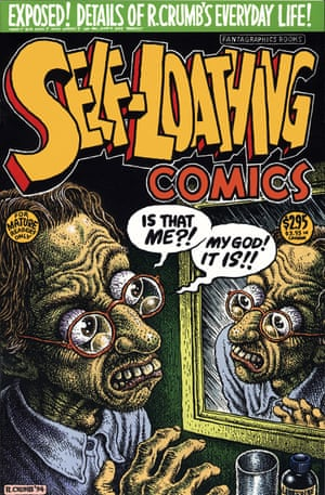 Self-Loathing comic cover by Robert Crumb