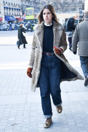 The double tuck, spotted at Paris fashion week, January 2017