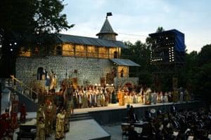 The Bolshoi Theatre performs Boris Godunov