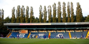 Bury's Gigg Lane stadium.