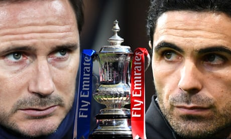 Arsenal v Chelsea: FA Cup final 2020 – live!