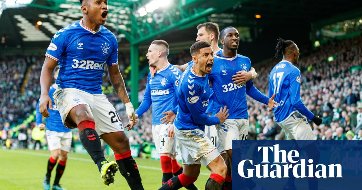 Rangers edge Old Firm derby to cut Celtic's lead at top of table to two points
