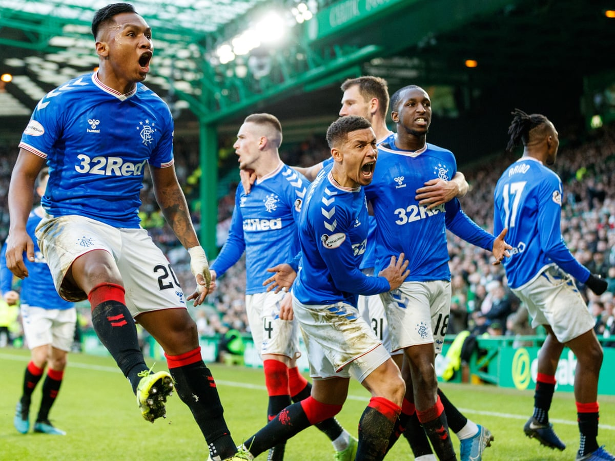 Rangers edge Old Firm derby to cut Celtic's lead at top of table to two points | Football | The Guardian