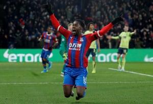 Crystal Palace's Jeffrey Schlupp scored the winner against Bournemouth