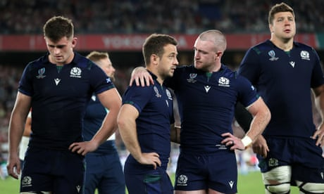Japan 28-21 Scotland: Rugby World Cup 2019 – as it happened