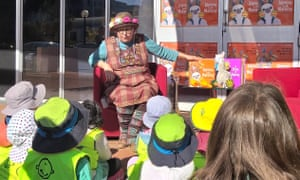 National Simultaneous Storytime 2019 at ALIA house.