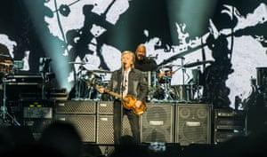 Infallible stuff ... Paul McCartney.