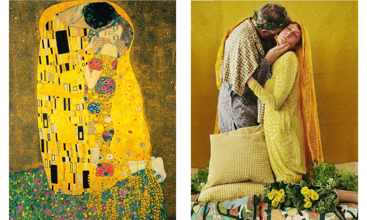 Tonight It S The Klimt Clinch Restaging Great Art In Lockdown Dublin Coronavirus The Guardian