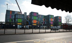 Modular homes in Ladywell, south-east London
