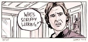 Star Wars #darthdays panels artworks.