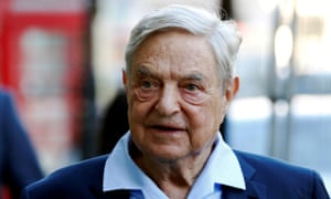 George Soros arrives to speak at the Open Russia Club in London, Britain, 20 June 2016.