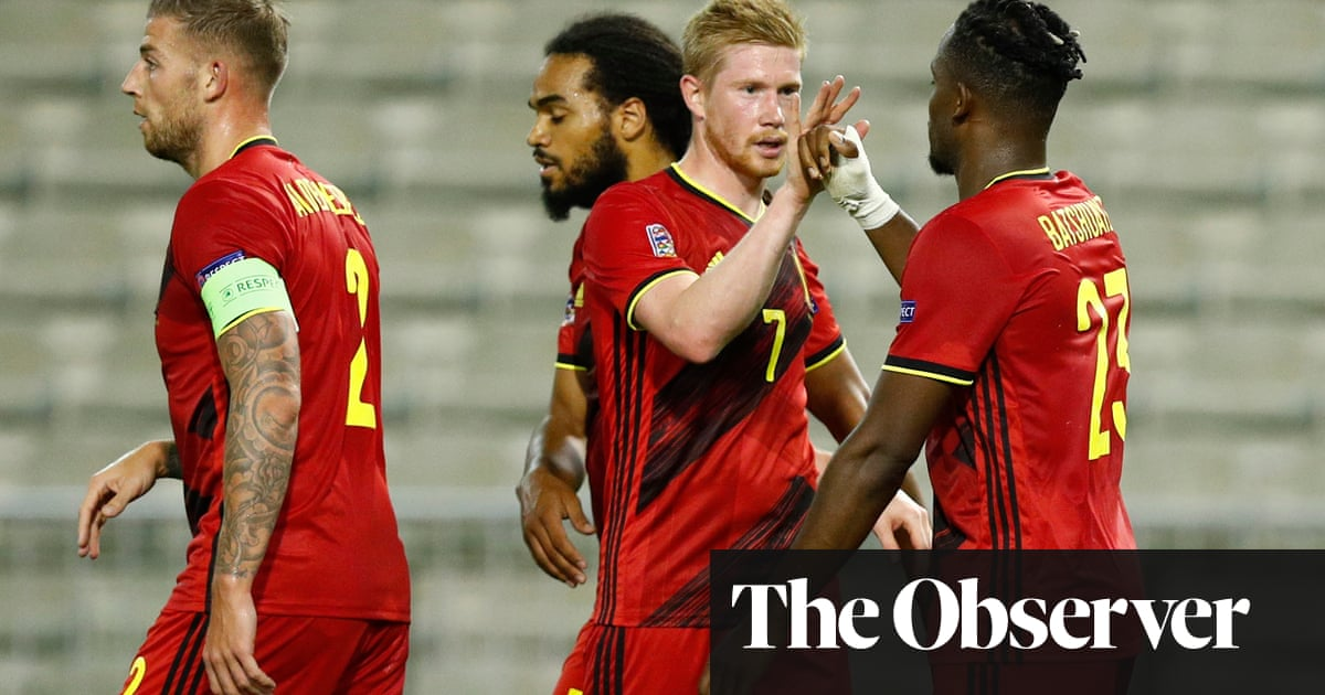 England game will show if Belgiums stars still have their Midas touch