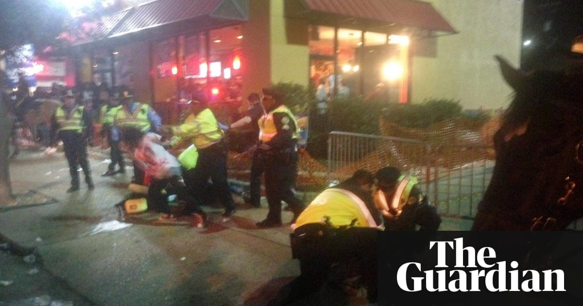 two dead after shooting at new orleans mardi gras parade us news the guardian. Black Bedroom Furniture Sets. Home Design Ideas