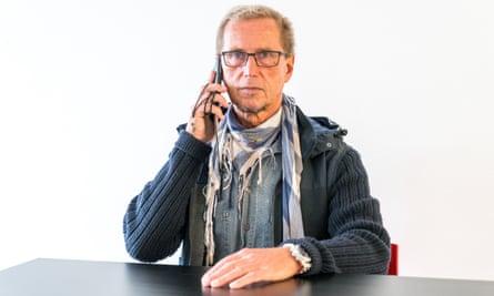 Stasi victim Frank Metzing