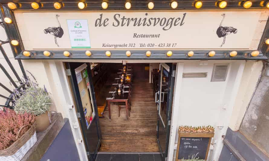 Restaurant De Struisvogel, Amsterdam