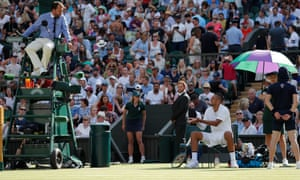 Nick Kyrgios had several heated discussions with the umpire, at one point calling the official 'a disgrace' and 'a joke.'