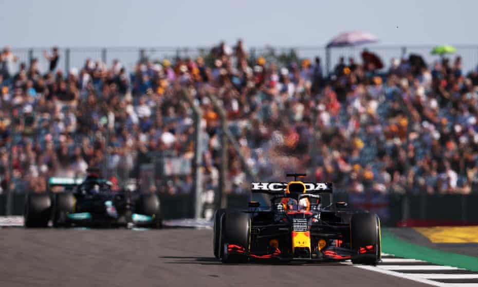 Max Verstappen has surged ahead of Lewis Hamilton, who now says retaining the championship will be a 'tall order'.