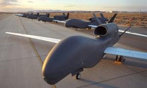 Global Hawk unmanned drones