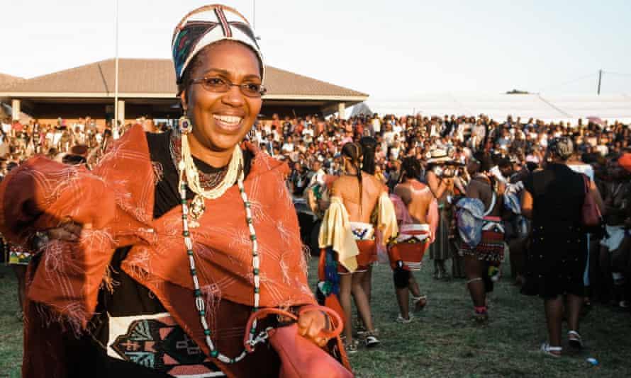 Queen Shiyiwe Mantfombi Dlamini Zulu, pictured in 2004