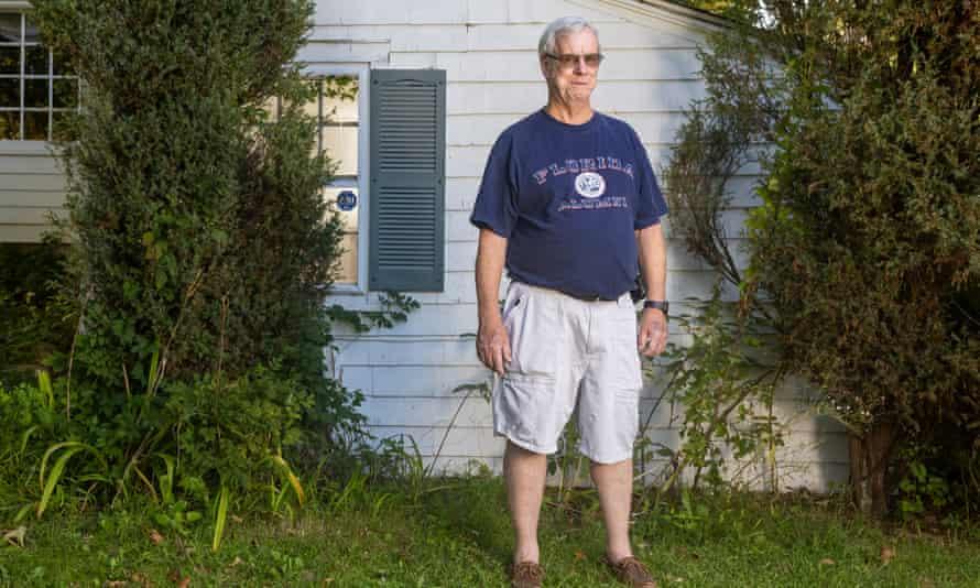 Chris Town: 'I started scrabbling for a handhold, but felt only wet, slippery rock.'