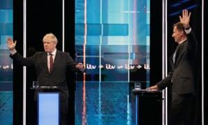 Boris Johnson and Jeremy Hunt