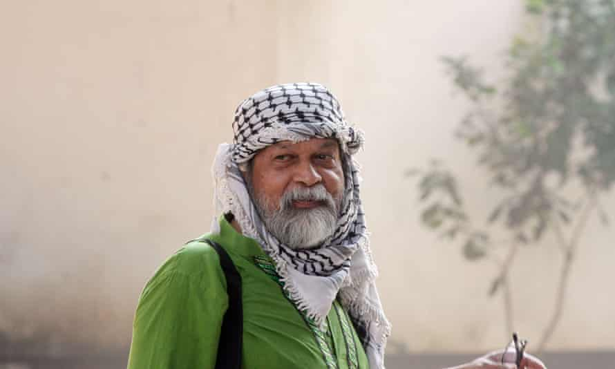 Shahidul Alam, who was arrested at his home in Dhaka.