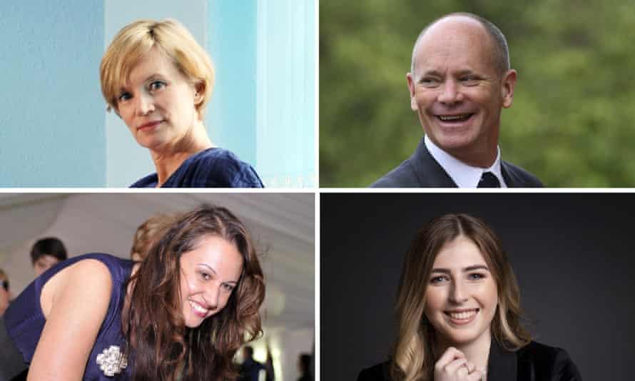 Australia Day honours recipients Jane Turner, Campbell Newman, Larissa Behrendt and Georgie Stone