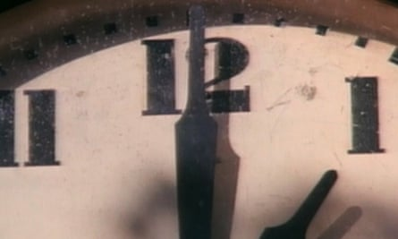 Time to rob a bank? … The Clock strikes one.