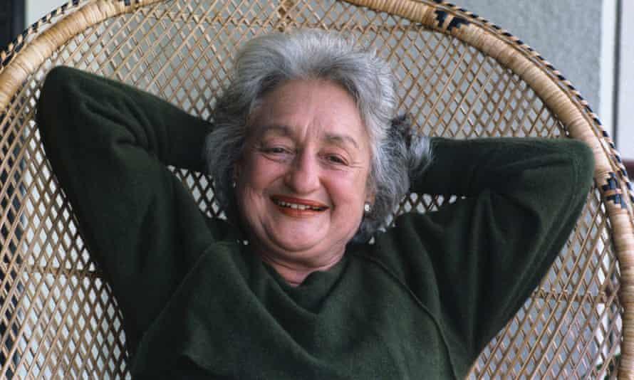 Betty Friedan in 1986.