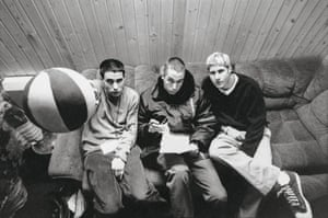 The Beastie Boys in Vienna, 1995, shortly after Ill Communication became the first of their three consecutive No 1 albums for Capitol