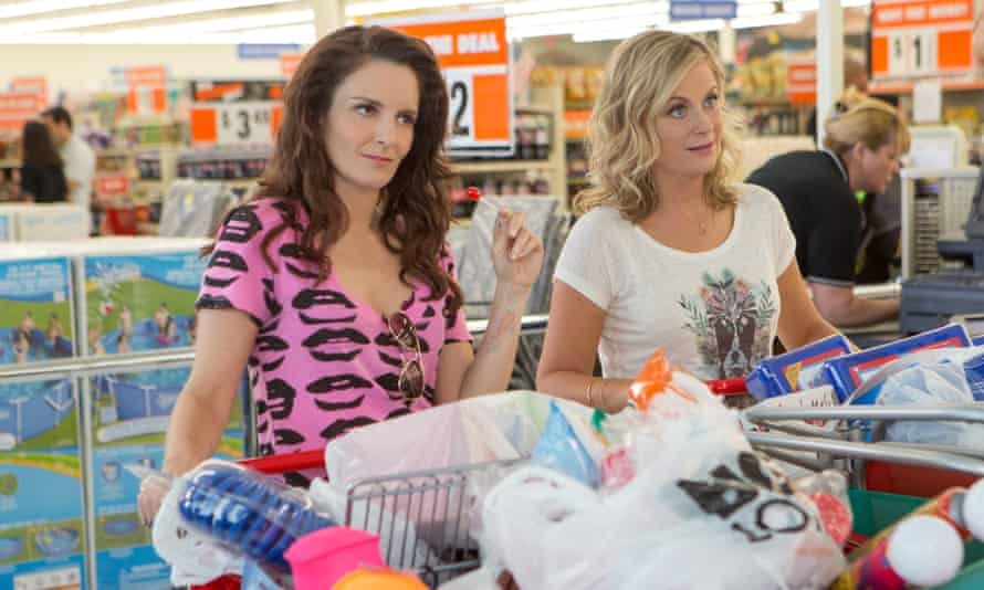 Making it look easy … Tina Fey, left, and Amy Poehler in Sisters.