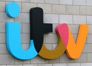 The ITV logo.