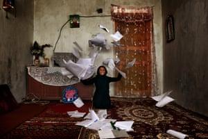 Maheen, 12, Afghanistan
