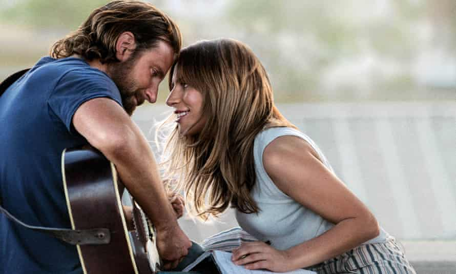 The price of fame … Bradley Cooper and Lady Gaga in A Star Is Born.
