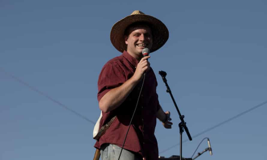 Madhatter … Mac DeMarco at Coachella, still showing lots of life.
