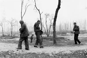 The grounds of a psychiatric hospital. Shanxi, 1990 from 'The Forgotten People'