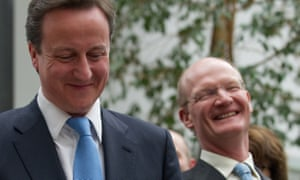 David Willetts (right) with David Cameron after the 2010 general election.