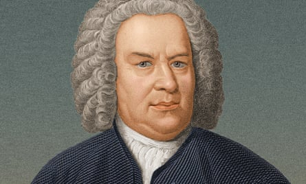German organist and composer Johann Sebastian Bach (1685-1750), portrait circa 1725.