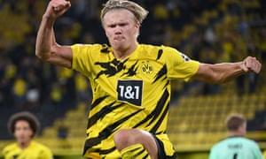 European Roundup Haaland Double Fires Dortmund To Winning Start Football The Guardian