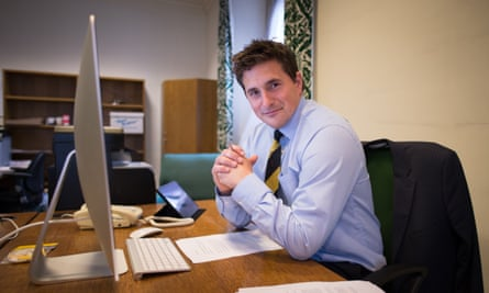 Johnny Mercer in WestminsterPlymouth MP Johnny Mercer at his office at the Houses of Parliament in London before making his first speech to the House of Commons.
