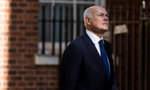 Iain Duncan Smith arrives at Downing Street