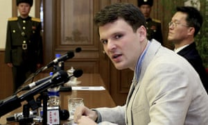 Otto Warmbier in Pyongyang, North Korea