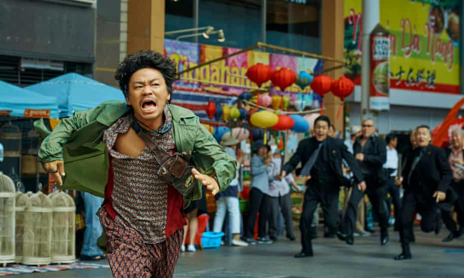 One bonkers digression after another … Detective Chinatown 3.