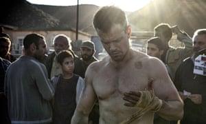 Bone-crunching return ... Jason Bourne.