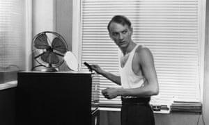John McEnery in a scene from the film Bartleby, 1970.
