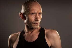 Dancer and choreographer Michael Clark