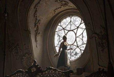 Stockholm syndrome … it may be a fancy castle, but she's still a prisoner.