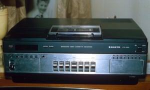 betamax cassette recorder